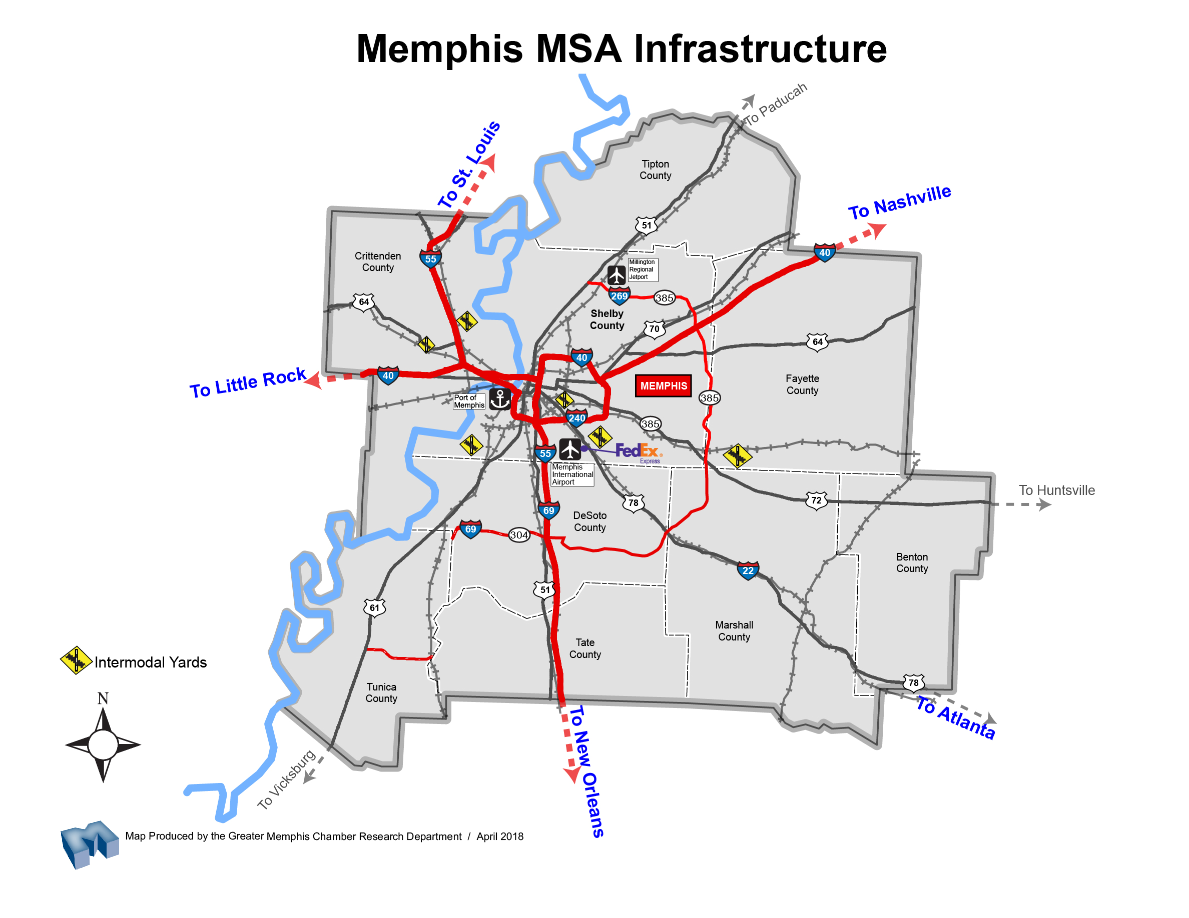Logistics & Distribution | Greater Memphis Chamber